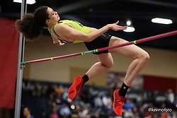 2020 USATF Indoor Championship<br /> Albuquerque, NM 2020-02-15<br /> photo credit: © 2020 Kevin Morris<br /> womens high jump, asics