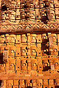 MEXICO, MAYAN, YUCATAN Kabah; Palace of the Chac Masks