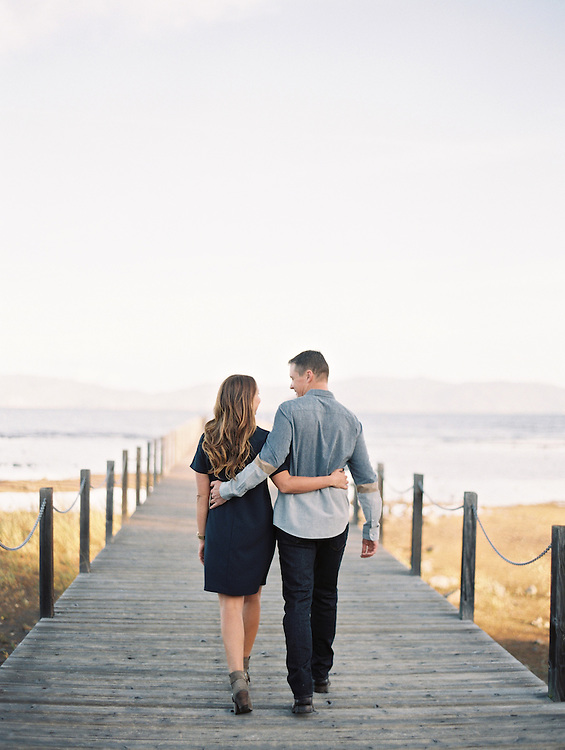 Bret Cole Photography, Marisa and Kevin's Engagement Session in Tahoe, Commons Beach