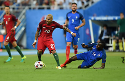 Ricardo Quaresma of Portugal battles for the ball with Blaise Matuidi of France  - Mandatory by-line: Joe Meredith/JMP - 10/07/2016 - FOOTBALL - Stade de France - Saint-Denis, France - Portugal v France - UEFA European Championship Final