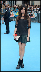 Gemma Chan arrives for the We're The Millers - European Film Premiere. Odeon, London, United Kingdom. Wednesday, 14th August 2013. Picture by Andrew Parsons / i-Images
