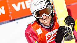 29.01.2017, Casino Arena, Seefeld, AUT, FIS Weltcup Nordische Kombination, Seefeld Triple, Skisprung, im Bild Maxime Laheurte (FRA) // Maxime Laheurte of France reacts after his Competition Jump of Skijumping of the FIS Nordic Combined World Cup Seefeld Triple at the Casino Arena in Seefeld, Austria on 2017/01/29. EXPA Pictures © 2017, PhotoCredit: EXPA/ JFK