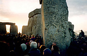 Stonehenge summer solstice 2001