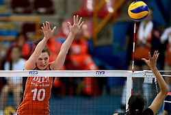 28-09-2014 ITA: World Championship Volleyball Mexico - Nederland, Verona<br /> Nederland wint met 3-0 van Mexico / Lonneke Sloetjes