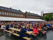 Bryggerifestivalen i forbindelse med mattmessa og Olavsfestdagene 2018, Trondheim. (mobilbilder/mobile phone)