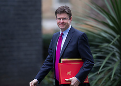 © Licensed to London News Pictures. 01/03/2016. London, UK. Greg Clark, Secretary of State for Communities and Local Government , arrives for a cabinet meeting. Photo credit: Peter Macdiarmid/LNP