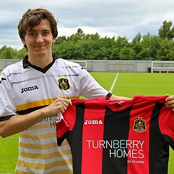Dumbarton Sign Chris Johnston | Dumbarton | 7 July 2017