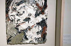 A painting by Frank Auerbach, Head of Gerda Boehm, 1965 is displayed during the David Bowie Collector Media Preview at Sotheby's on September 26, 2016 in New York City, NY, USA. Photo by Dennis Van Tine/ABACAPRESS.COM