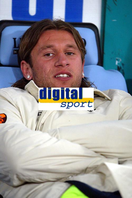 Fotball<br /> Serie A Italia 2004/05<br /> Roma v Siena<br /> 20. april 2005<br /> Foto: Digitalsport<br /> NORWAY ONLY<br /> cassano