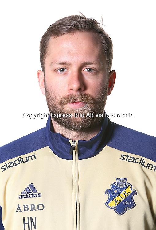 Henrik Nyhus<br /> Halvfigur<br /> @Leverans<br /> Allsvenskan 2016<br /> Fotboll