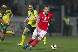 March 18, 2017 - Pacos De Ferreira, Pacos Ferreira, Portugal - Benfica's Greek forward Kostas Mitroglou during the Premier League 2016/17 match between Pacos Ferreira and SL Benfica, at Mata Real Stadium in Pacos de Ferreira on March 18, 2017. (Credit Image: © Dpi/NurPhoto via ZUMA Press)
