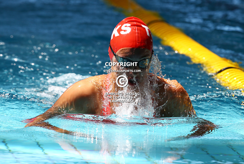 DURBAN, SOUTH AFRICA, February 6 2016 - Tatjana Schoenmaker Women 200m LC Breaststroke during Day 3  the second&nbsp;leg of the 2016 South African Swimming Grand Prix series at the  Kings Park Swimming Pool Durban South Africa. (Photo by Steve Haag)<br /> Images for social media must have consent from Steve Haag
