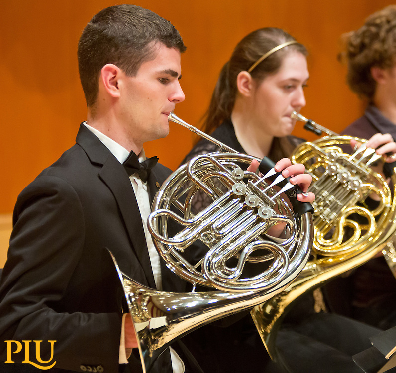 PLU Orchestra in Lagerquist Concert Hall on Monday, Oct. 20, 2014. (PLU Photo/John Froschauer)