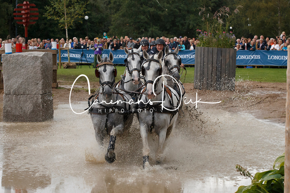 Ruschitzka Andreas, AUT, Cavalla, Concordia, Generale Extracta, Generalissimus Colyria<br /> FEI European Driving Championships - Goteborg 2017 <br /> &copy; Hippo Foto - Dirk Caremans<br /> 26/08/2017,