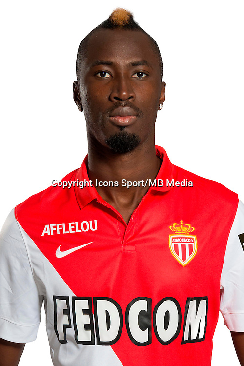 Lacina TRAORE - 29.08.2014 - Photo officielle Monaco - Ligue 1 2014/2015<br /> Photo : Stephane Senaux / AS Monaco / Icon Sport