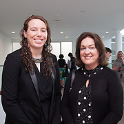 13.05.2016.           <br /> Niamh Kavanagh, LIT and Siobhan Hanley, LSAD pictured at the much anticipated Limerick School of Art & Design, LIT, (LSAD) Graduate Fashion Show on Thursday 12th May 2016. The show took place at the LSAD Gallery where 27 graduates from the largest fashion degree programme in Ireland showcased their creations. Ranked among the world's top 50 fashion colleges, Limerick School of Art and Design is continuing to mold future Irish designers.. Picture: Alan Place/Fusionshooters