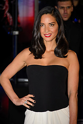 Olivia Munn attends The World Premiere of 'Robocop'. BFI IMAX, London, United Kingdom. Wednesday, 5th February 2014. Picture by Chris Joseph / i-Images