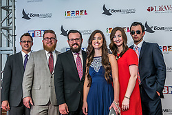 October 11, 2016 - Nashville, Tennessee, USA - Flatt Lonesome at the 47th Annual GMA Dove Awards  in Nashville, TN at Allen Arena on the campus of Lipscomb University.  The GMA Dove Awards is an awards show produced by the Gospel Music Association. (Credit Image: © Jason Walle via ZUMA Wire)