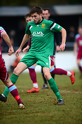 JOSH BICKERSTAFF  HITCHIN TOWN, Chesham United v Hitchin Town Evostik Southern Premier Division, Saturday 10th March 2018, Score 0-0