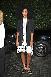 Solange Knowles attend the Topshop Topman LA flagship store opening party at Cecconi s Restaurant, Los Angeles, US, February 13, 2013. Photo by Imago / i-Images...UK ONLY