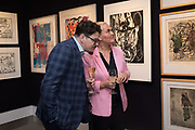 JIM HIRONS; CAROLINE HIRONS, Preview evening  in support of The Eve Appeal, a charity dedicated to protecting women from gynaecological cancers. Bonhams Knightsbridge, Montpelier St. London. 29 April 2019