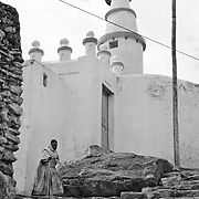 A mosque in Harar, considered the fourth holy city of Islam because of the highest concentration of mosques and shrines in the world, UNESCO World Heritage Site, Ethiopia, Africa
