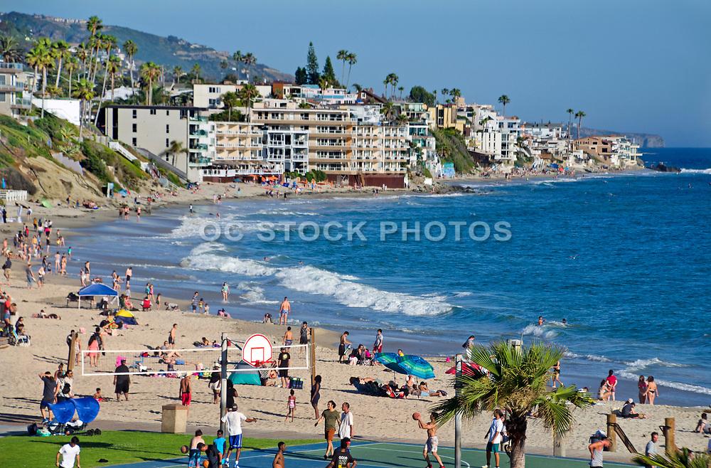 Downtown Main Beach in Laguna Beach California