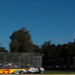 F1 Australian Grand Prix 15 March 2013 Practice Session 2.Practice Session 2. Lewis Hamilton Mercedes AMG Petronas Turn 6;.(c) MILOS LEKOVIC | StockPix.eu