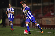 U21 Brighton and Hove Albion's James Tilley during the Barclays U21 Premier League match between U21 Brighton and Hove Albion and U21 Newcastle United at the Checkatrade.com Stadium, Crawley, England on 23 March 2016.