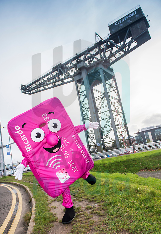 FREE FIRST USE<br /> <br /> First Bus mascot Ricardo around Glasgow promoting contactless payments on First Bus.<br /> <br /> For further info:<br />  Michael McGlinchey, PR Scotland Manager, First Bus, 07525 866712, michael.mcglinchey@firstgroup.com. <br /> <br /> Lenny Warren / Warren Media<br /> 07860 830050  01355 229700<br /> lenny@warrenmedia.co.uk<br /> www.warrenmedia.co.uk<br /> <br /> All images &copy; Warren Media 2017. Free first use only for editorial in connection with the commissioning client's  press-released story. All other rights are reserved. Use in any other context is expressly prohibited without prior permission.