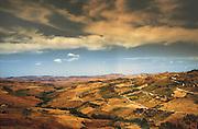 Madonie mountains landscape, Sicily.<br /> Paesaggio dei monti delle Madonie, Sicilia.