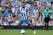Brighton & Hove Albion's Beram Kayal during the Pre-Season Friendly match between Brighton and Hove Albion and SS Lazio at the American Express Community Stadium, Brighton and Hove, England on 31 July 2016.