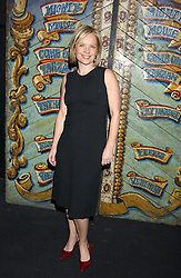 MARIELLA FROSTRUP at a party to celebrate the first issue of British Harper's Bazaar held at Cirque, 10-14 Cranbourne Street, London WC2 on 16th February 2006.<br />