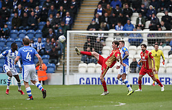 Conor McGrandles of Milton Keynes Dons controls the ball - Mandatory by-line: Arron Gent/JMP - 27/04/2019 - FOOTBALL - JobServe Community Stadium - Colchester, England - Colchester United v Milton Keynes Dons - Sky Bet League Two