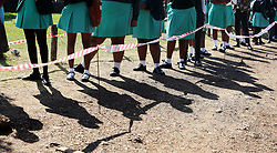 SOUTH AFRICA - Durban - 01 July 2020 -  KwaZulu-Natal MEC for education Kwazi Mshengu visits Nqabakazulu High School in KwaMashu after a stand-off between pupils and teachers which has led to three days of no learning at a school in KwaMashu, Durban, has finally come to an end.<br /> Picture: Motshwari Mofokeng/African News Agency (ANA)