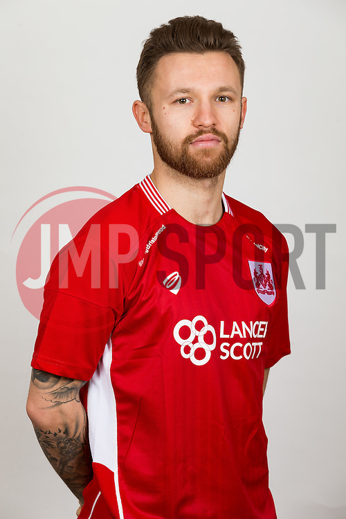 Matty Taylor of Bristol City - Rogan Thomson/JMP - 02/02/2017 - FOOTBALL - Failand Training Ground - Bristol, England - Bristol City Headshots 2016/17.