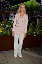 Charlie Newman at the Aspall Tennis Classic Players Party hosted by Aspall and Taylor Morris Eyewear at Bluebird, 350 King's Road, Chelsea, London England. 28 June 2017.<br /> Photo by Dominic O'Neill/SilverHub 0203 174 1069/ 07711972644 - Editors@silverhubmedia.com