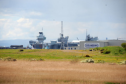 HMS Queen Elizabeth_Forth_23-05-2019<br /> <br /> (c) David Wardle | Edinburgh Elite media