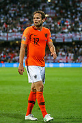 Netherlands Defender Daley Blind  (Ajax) during the UEFA Nations League semi-final match between Netherlands and England at Estadio D. Afonso Henriques, Guimaraes, Portugal on 6 June 2019.