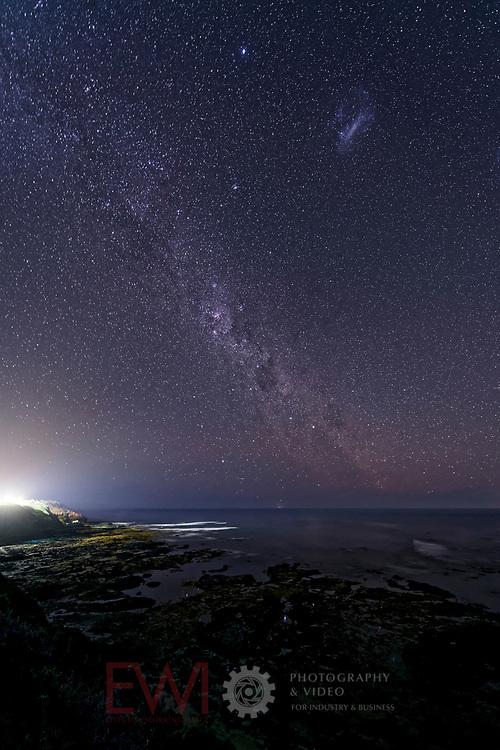 Milky Way over Flinders  back beach.