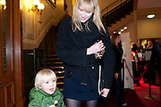 JACKSON; JADE PARFITT, Press night of Cirque du Soleil's new show 'Totem' at The Royal Albert Hall.  London. January 5, 2011<br /> <br /> -DO NOT ARCHIVE-© Copyright Photograph by Dafydd Jones. 248 Clapham Rd. London SW9 0PZ. Tel 0207 820 0771. www.dafjones.com.