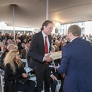 NLD/Amsterdam/20160515 - Nationaal Holocaust museum opent met schilderijen Jeroen Krabbé, Ralph Keuning