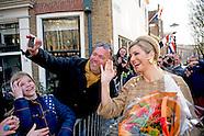 Koningin Maxima is aanwezig bij de uitreiking van de dertigste Geuzenpenning. De onderscheiding gaat