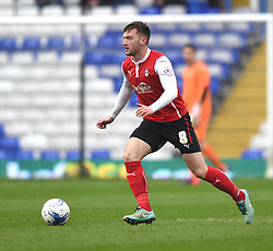 Rotherham United's Lee Frecklington in action during the Sky Bet Championship match between Birmingham City and Rotherham United at St Andrew's Stadium on 3 April 2015 in Birmingham, England - Photo mandatory by-line: Paul Knight/JMP - Mobile: 07966 386802 - 03/04/2015 - SPORT - Football - Birmingham - St Andrew's Stadium - Birmingham City v Rotherham United - Sky Bet Championship