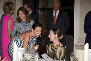 PRINCESS D'ARENBERG; DR. CORINNE FLICK, Christie's Gala. Casa Austria.  Amadeus Weekend. Salzburg. 22 August 2008.  *** Local Caption *** -DO NOT ARCHIVE-© Copyright Photograph by Dafydd Jones. 248 Clapham Rd. London SW9 0PZ. Tel 0207 820 0771. www.dafjones.com.