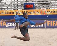 Football-FIFA Beach Soccer World Cup 2006 - Group C- CMR- Cameron team training session at the FIFA stadium in Rio. - Rio de Janeiro - Brazil 01/11/2006<br />Mandatory credit: FIFA/ Marco Antonio Rezende.