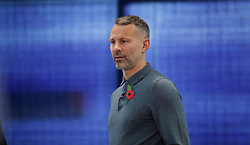 BRIDGEND, WALES - Tuesday, November 5, 2019: Wales manager Ryan Giggs during a press conference at Nathaniel Cars in Bridgend to announce his squad for the final UEFA Euro 2020 Qualifying Group E qualifying matches against Azerbaijan and Hungary. (Pic by David Rawcliffe/Propaganda)