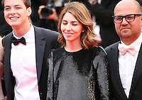 Director Sofia Coppola and the cast of The Bling Ring.at the gala screening of Jeune & Jolie at the 2013 Cannes Film Festival 16th May 2013