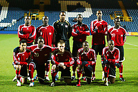 Photo: Chris Ratcliffe.<br /> Iceland v Trinidad and Tobago. International Friendly. 28/02/2006.<br /> Trinidad & Tobago Starting XI.<br /> Top row, from left to right, Avery John, Aurtis Whitley, Shaka Hislop, Marvin Andrews, Dennis Lawrence, Dwight Yorke.<br /> Bottom row, left to right, Carlos Edwards, Collin Samuel, Chris Birchall, Cyd Grey, Stern John