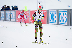 Laura Dahlmeier (GER) during Women 12.5 km Mass Start at day 4 of IBU Biathlon World Cup 2015/16 Pokljuka, on December 20, 2015 in Rudno polje, Pokljuka, Slovenia. Photo by Urban Urbanc / Sportida